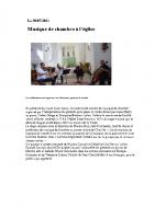 30-07-2021 – Musique de chambre église